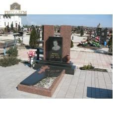 Памятник комбинированный 04 — ritualum.ru
