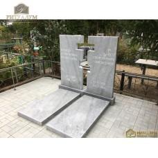Памятник из мрамора - Воздушный крест 71 — ritualum.ru